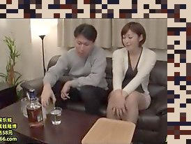 japanese cheating wife big tits creampie